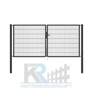Garten 2D kétszárnyú kapu 3,5mx1,4m, horganyzott