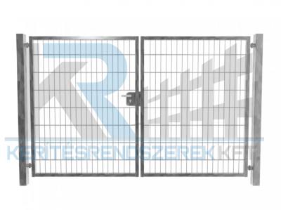 Garten 2D kétszárnyú kapu 3,5mx1,6m, horganyzott