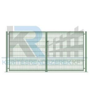 Garten 3D kétszárnyú kapu 3x2,0m, zöld