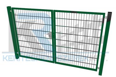 Garten 2D kétszárnyú kapu 3,5mx1,6m, zöld