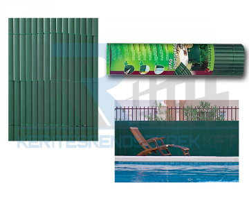 Plasticane ovális műnád 1,5/3 m zöld
