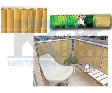 Plasticane ovális műnád 1,5/3 m bambusz