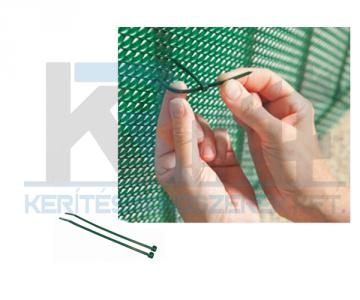 Bridfix gyorskötöző 14 cm 50 db/csomag, zöld