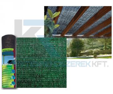 SUN-NET R7 3x4m árnyékoló háló,  zöld