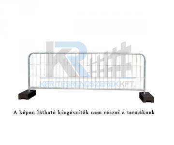 Event mobil kerítés tábla 3mx1,2m