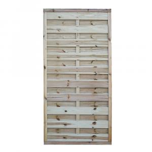 Pilis egyenes kerítés elem 90x180 cm, 30x45 mm kerettel, 5x100 mm lamellákkal
