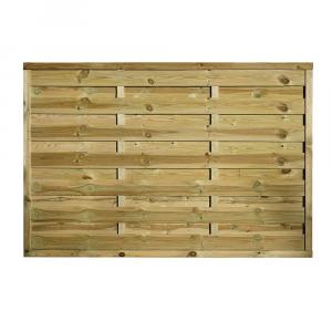 Pilis egyenes kerítés elem 180x120 cm, 30x45 mm kerettel, 5x100 mm lamellákkal