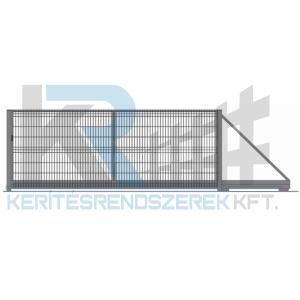 Garten 3D úszókapu 3 m x 1,7 m, horganyzott