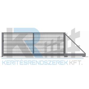 Garten 3D úszókapu 3 m x 1,5 m, horganyzott