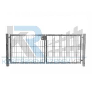Garten 2D kétszárnyú kapu 3,5mx1,0m, horganyzott