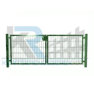 Garten 2D kétszárnyú kapu 3,5mx1,0m, zöld