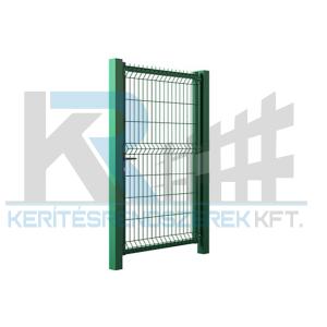 Garten 3D egyszárnyú kapu 1x1,7m zöld
