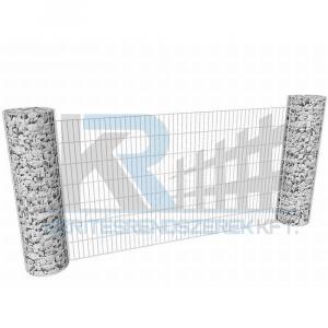 Gabion köroszlopos kerítés szett 9,1mx2,1m